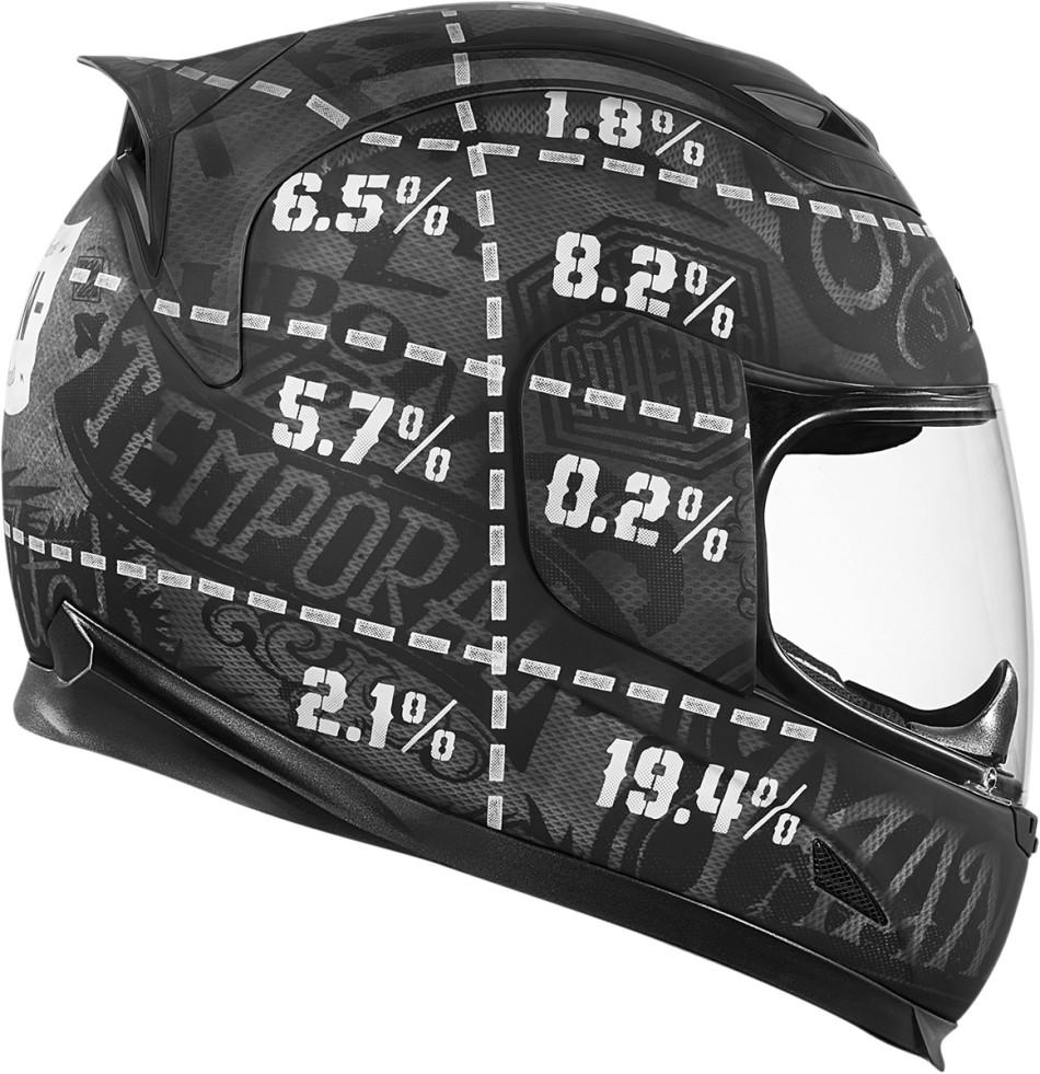 【ICON】HELMET AF STATISTIC 安全帽 - 「Webike-摩托百貨」