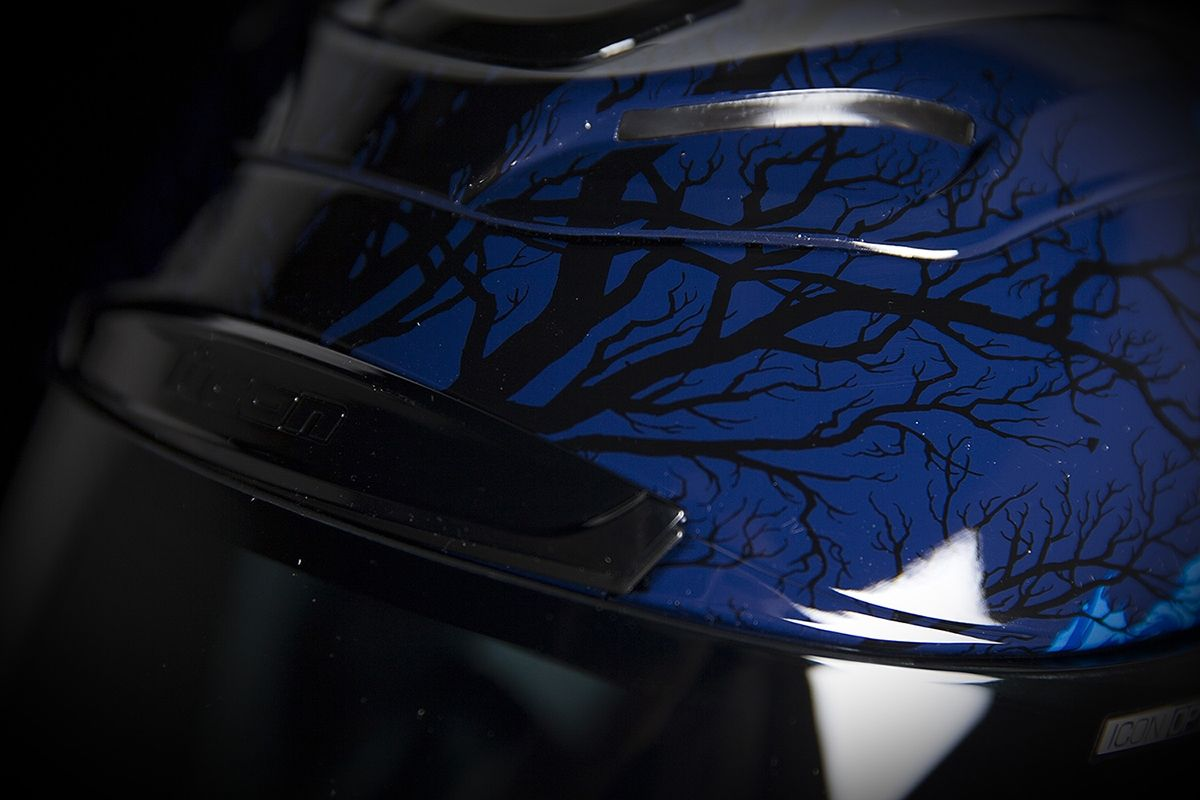 【ICON】HELMET AIRAMADA THRILLER BLUE 安全帽 - 「Webike-摩托百貨」