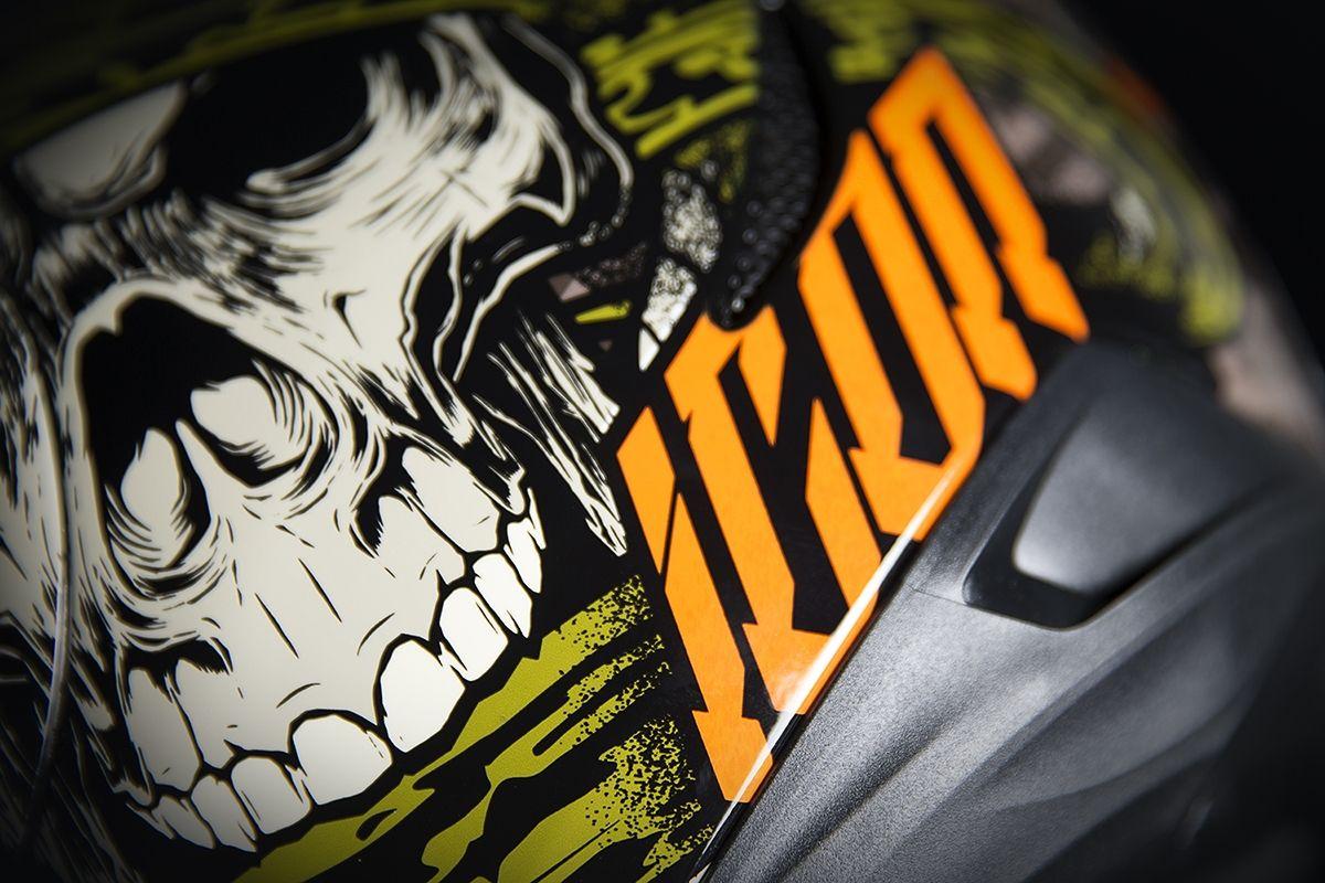 【ICON】HELMET AM VITRIOL BLK 安全帽 - 「Webike-摩托百貨」