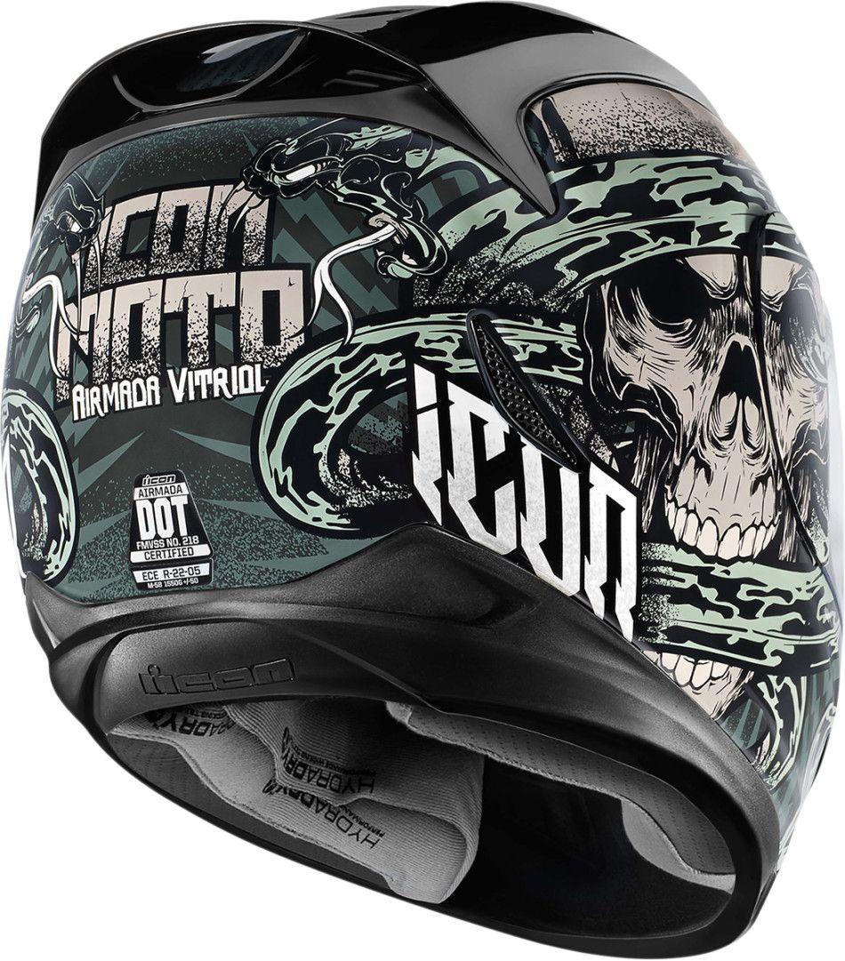 【ICON】HELMET AM VITRIOL GRAY 安全帽 - 「Webike-摩托百貨」