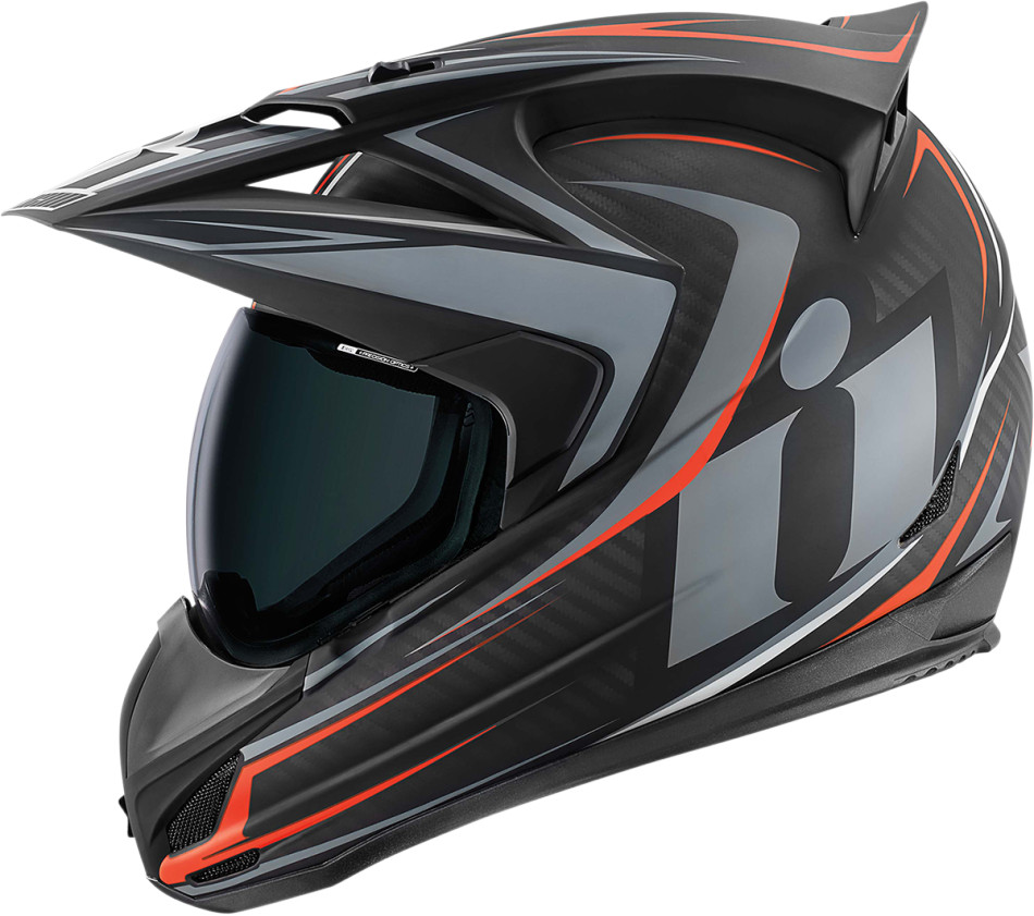 【ICON】HELMET VAR RAID BLACK 安全帽 - 「Webike-摩托百貨」