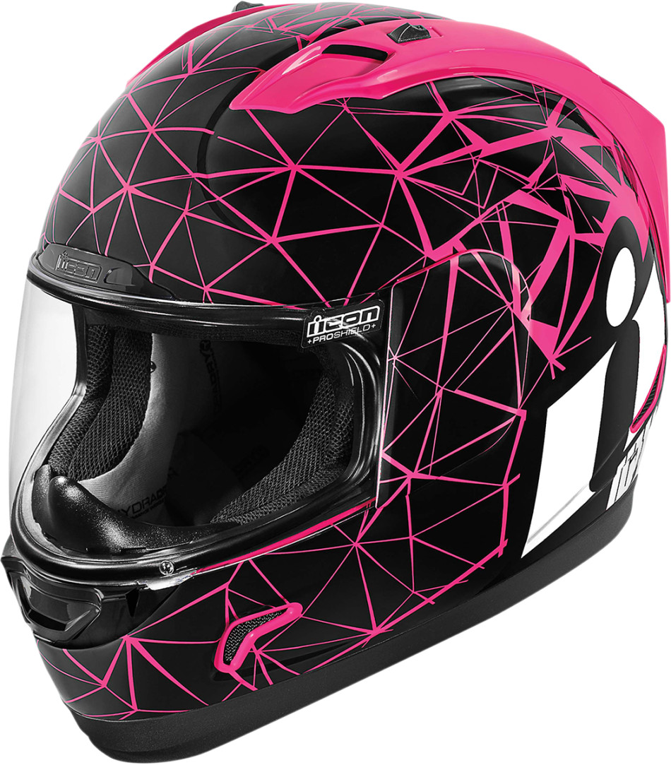 【ICON】HELMET AL CRYSMAT PNK 安全帽 - 「Webike-摩托百貨」