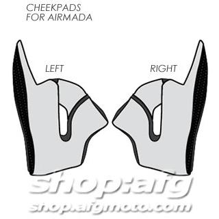 【ICON】CHEEKPDS AIRMD 安全帽面頰墊 - 「Webike-摩托百貨」