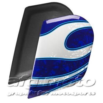 【ICON】SIDEPLATE HI-VIZ/REFLECT 安全帽側蓋 - 「Webike-摩托百貨」