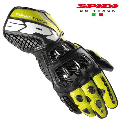 【SPIDI】CARBO TRACK LEATHER 手套 - 「Webike-摩托百貨」