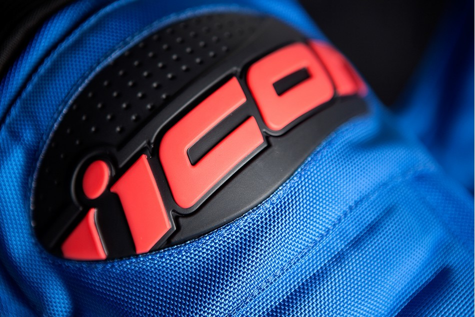 【ICON】外套 JKT RESISTANCE BLUE - 「Webike-摩托百貨」