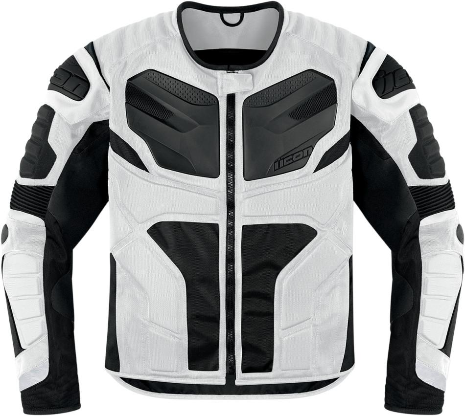 【ICON】外套 JKT RESISTANCE WHITE - 「Webike-摩托百貨」