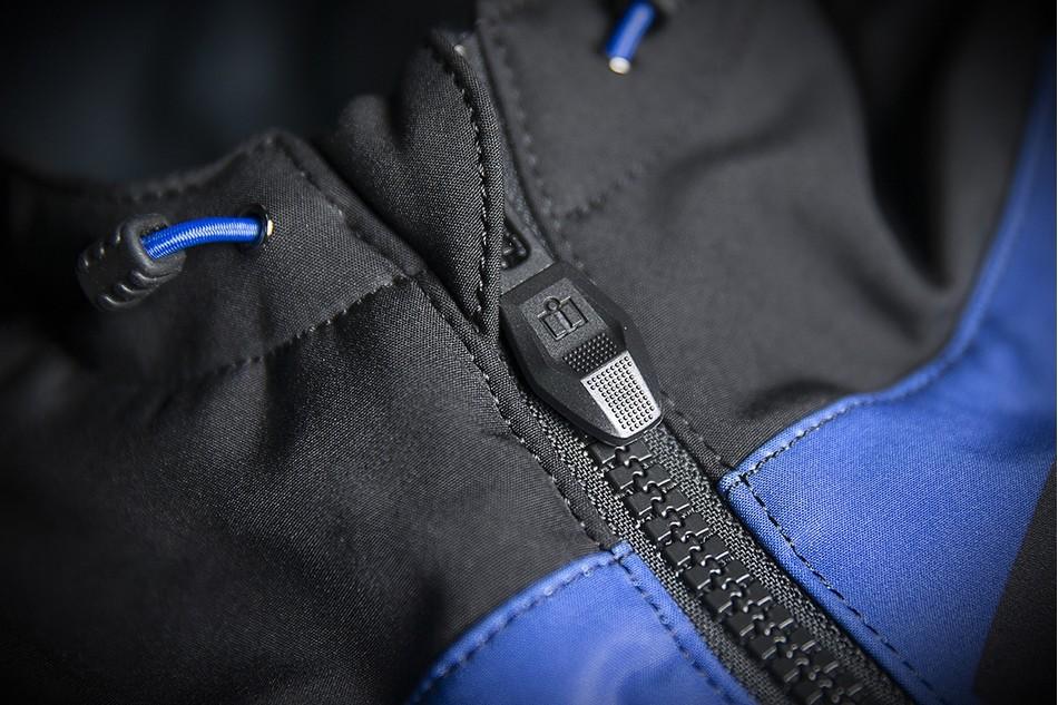 【ICON】廠隊外套 JKT TEAM MERC BLUE - 「Webike-摩托百貨」