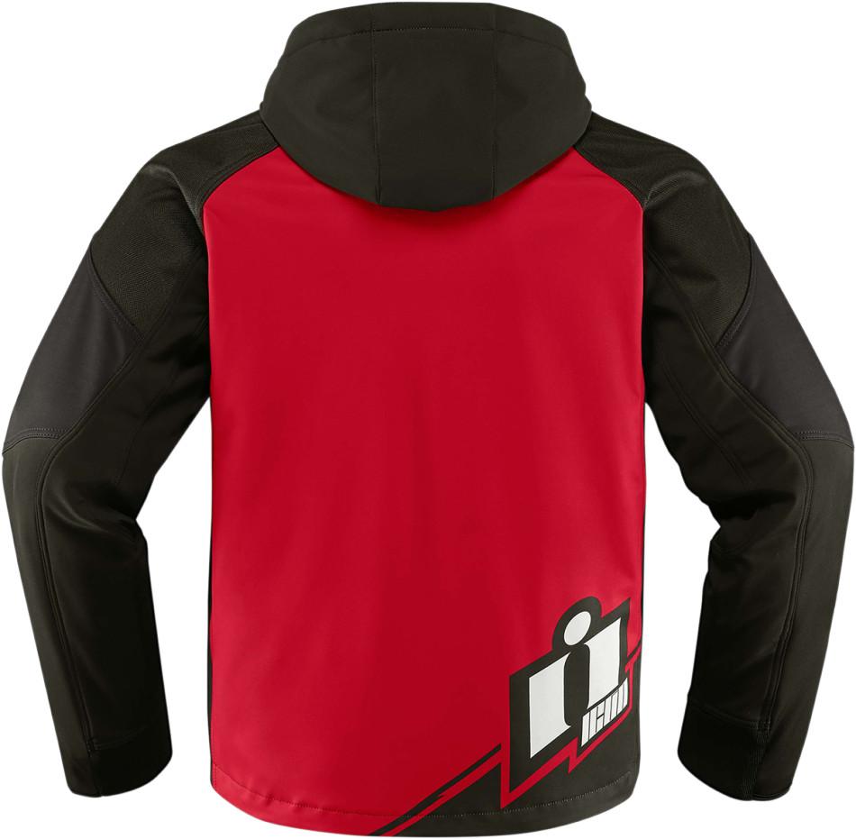 【ICON】廠隊外套 JKT TEAM MERC RED - 「Webike-摩托百貨」