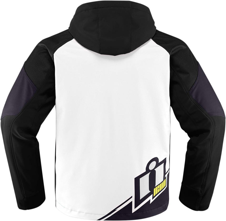 【ICON】廠隊外套 JKT TEAM MERC WHITE - 「Webike-摩托百貨」
