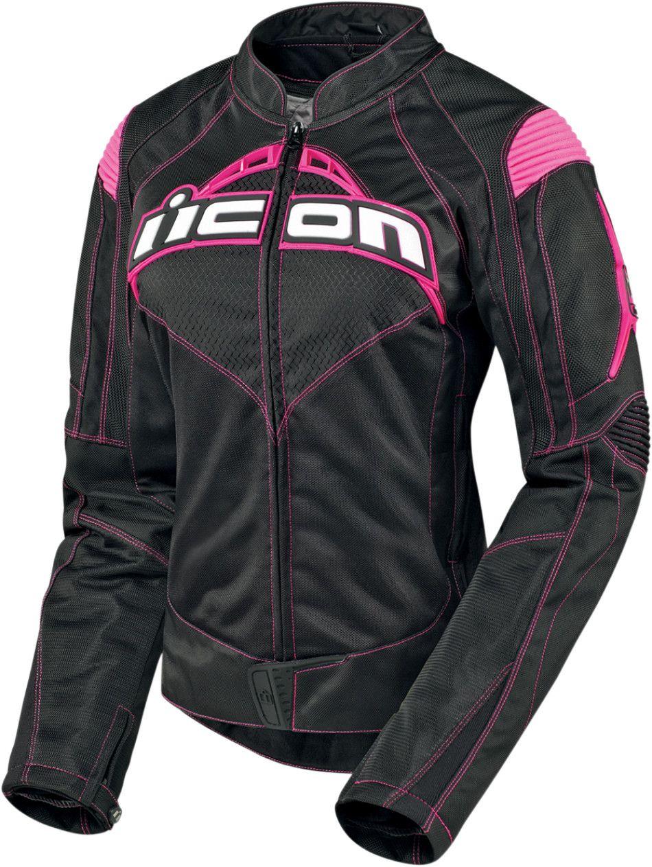 【ICON】外套 JACKET WM CONTRA BK/PK - 「Webike-摩托百貨」