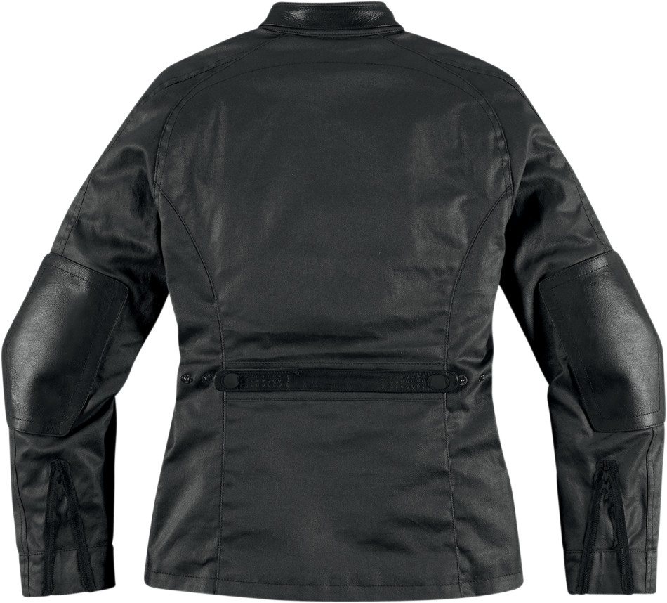 【ICON】外套 JACKET AKORP WMN BLK - 「Webike-摩托百貨」