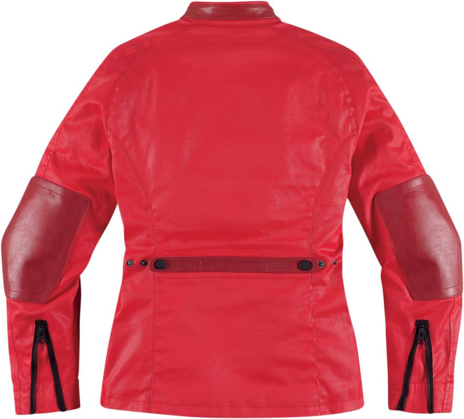 【ICON】外套 JACKET AKORP WMN RED - 「Webike-摩托百貨」
