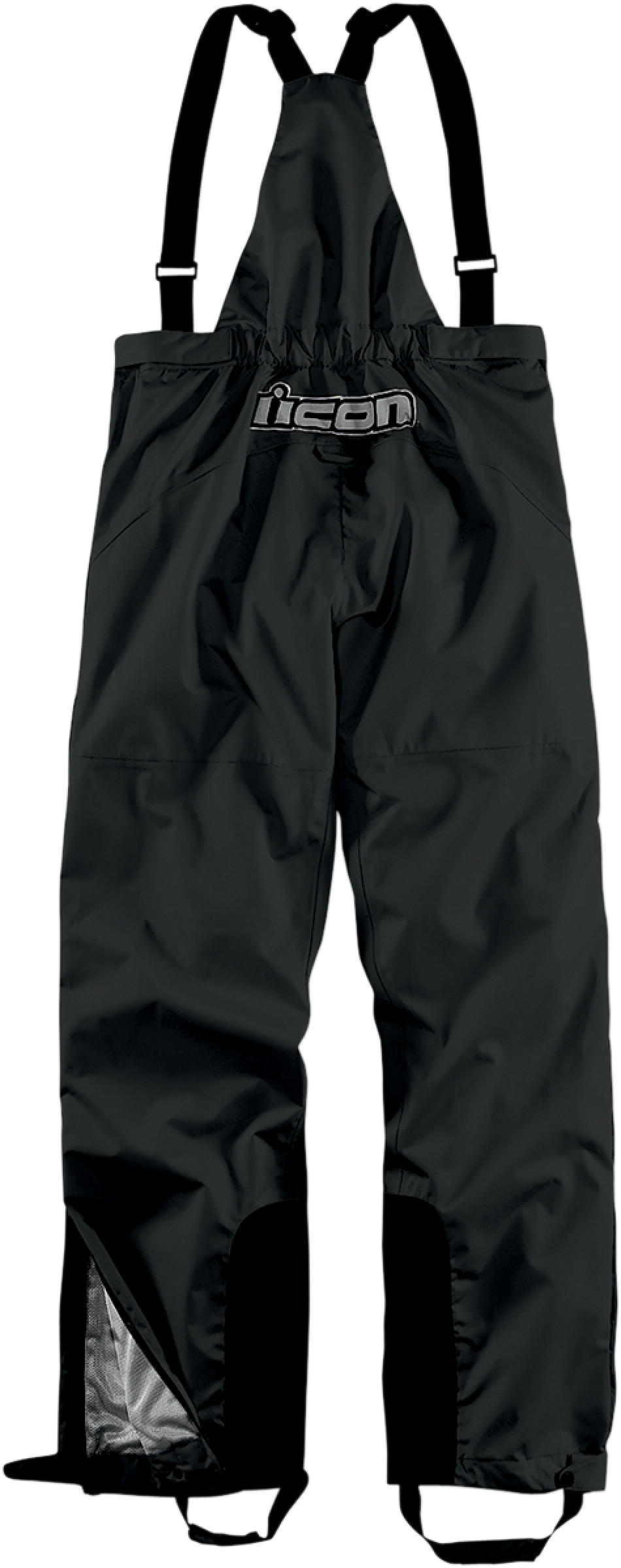 【ICON】吊帶褲 BIB PDX BLACK - 「Webike-摩托百貨」