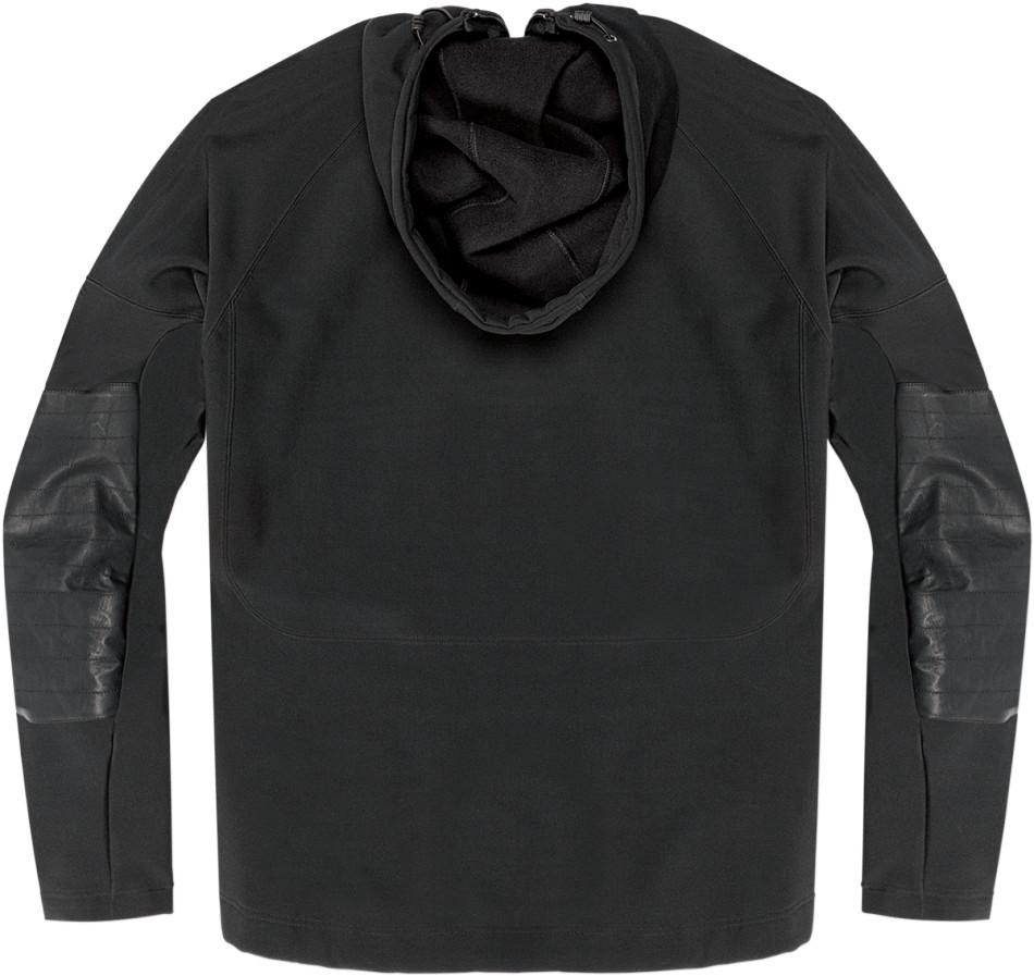 【ICON】外套 JACKET HOODLUX BLK - 「Webike-摩托百貨」