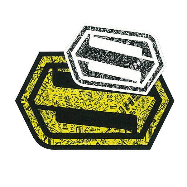 【SHIFT】BARS 貼紙 15cm - 「Webike-摩托百貨」