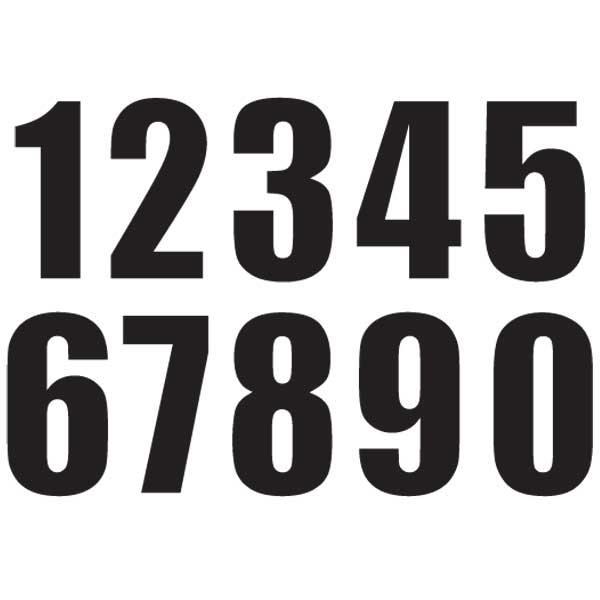 【MOTION】標準號碼牌 MX2 - 「Webike-摩托百貨」