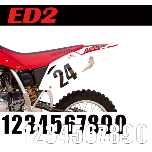 【MOTION】標準前號碼牌 ED2 - 「Webike-摩托百貨」