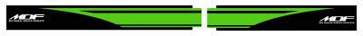 【MDF】KDX200Fire後搖臂貼紙組GR - 「Webike-摩托百貨」