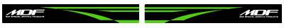 【MDF】KDX220Fire貼紙後搖臂貼紙組 - 「Webike-摩托百貨」