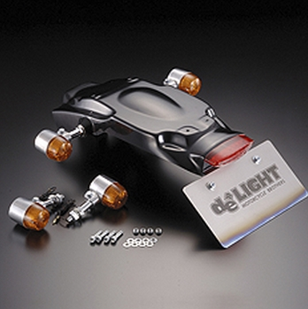【de LIGHT】燻黑色方向燈、LED尾燈套件 - 「Webike-摩托百貨」
