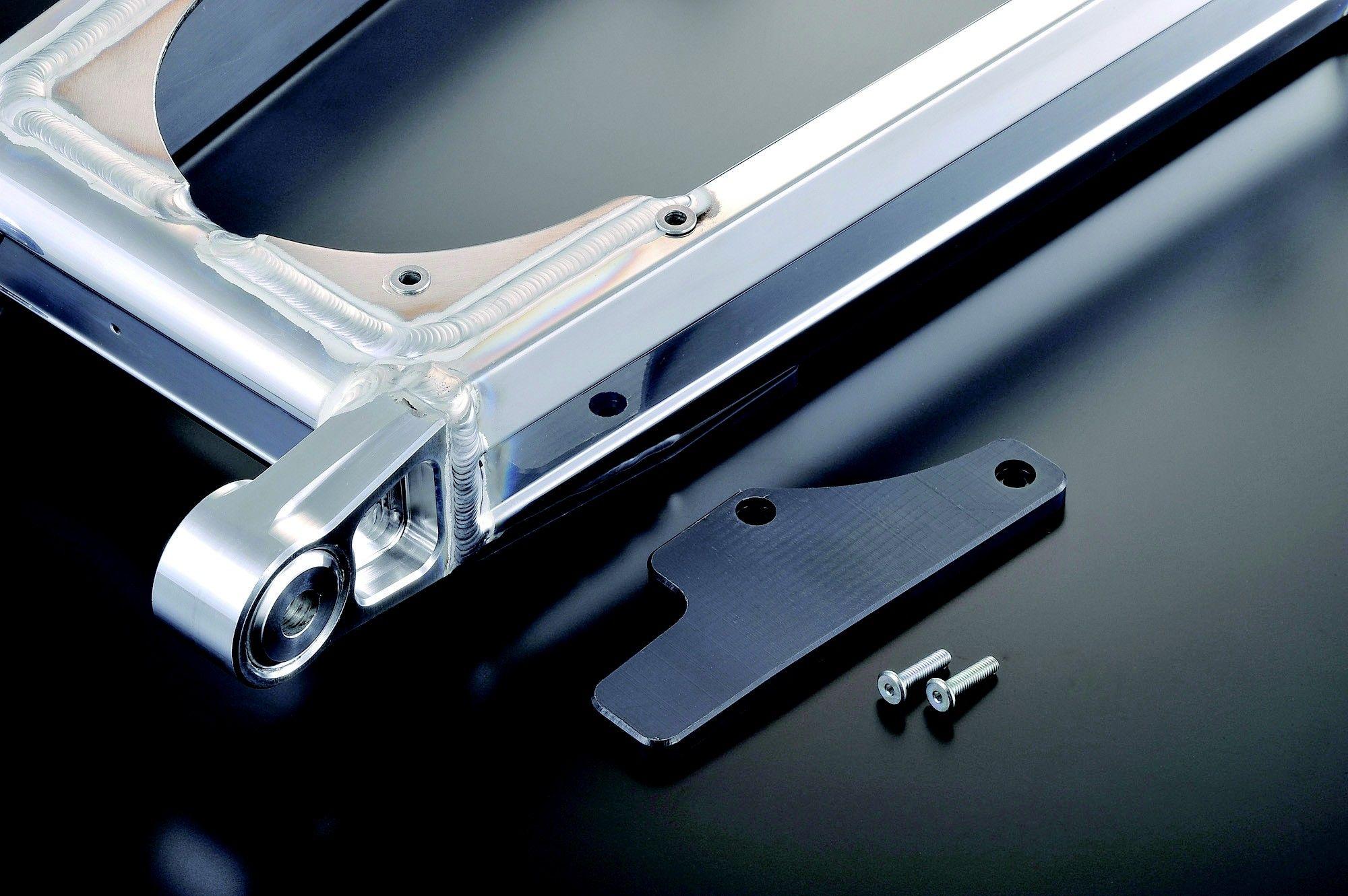 【G-Craft】NS-1輪框用MONO SHOCK多角型後搖臂 加長10cm - 「Webike-摩托百貨」