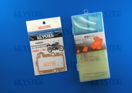 KEYSTER キースター:燃調キット&スロットルバルブガイドガスケット