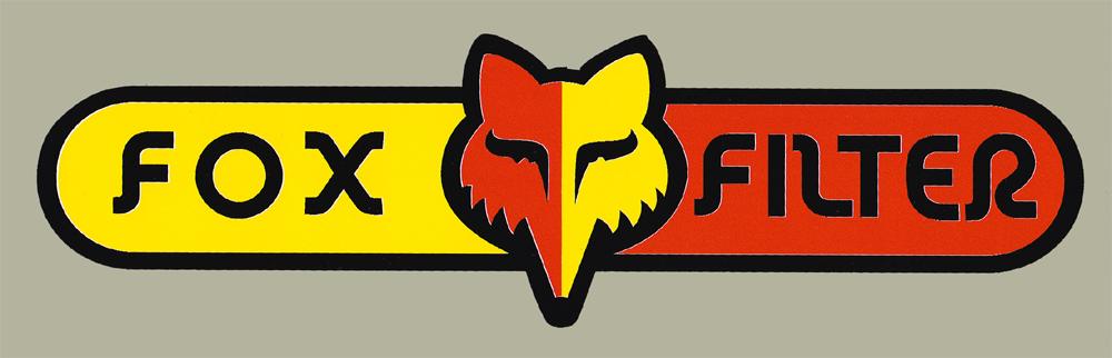 【HollyEquip】FOX FILTER 貼紙 - 「Webike-摩托百貨」