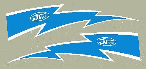 【HollyEquip】JT Racing Lightning Bolt 貼紙 6吋 PR - 「Webike-摩托百貨」