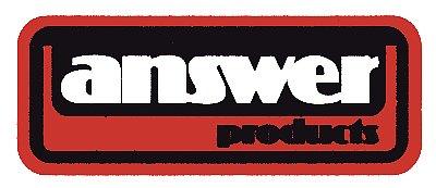 【HollyEquip】Answer Products 貼紙 - 「Webike-摩托百貨」
