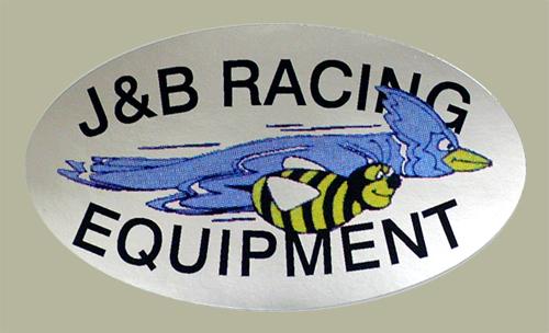 【HollyEquip】J&B Racing 貼紙 - 「Webike-摩托百貨」
