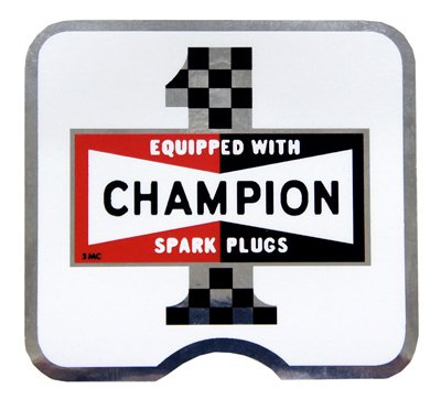 【HollyEquip】Champion #1 Foil 貼紙 - 「Webike-摩托百貨」