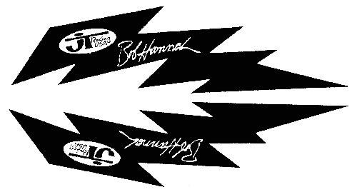 【HollyEquip】JT Bob Hannah Bolt 貼紙 6吋 PR - 「Webike-摩托百貨」