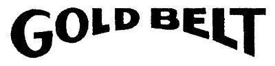 【HollyEquip】Goldbelt Die-Cut貼紙 - 「Webike-摩托百貨」