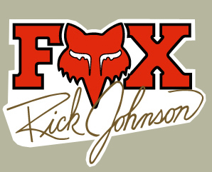 【HollyEquip】FOX Ricky Johnson 貼紙 - 「Webike-摩托百貨」