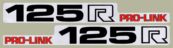 【HollyEquip】1983 HONDA CR125R 後搖臂貼紙(PR) - 「Webike-摩托百貨」