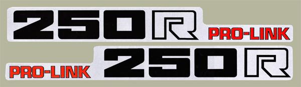 【HollyEquip】1983 HONDA CR250R 後搖臂貼紙(PR) - 「Webike-摩托百貨」