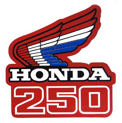 【HollyEquip】1985-87 HONDA CR250 油箱貼紙 - 「Webike-摩托百貨」