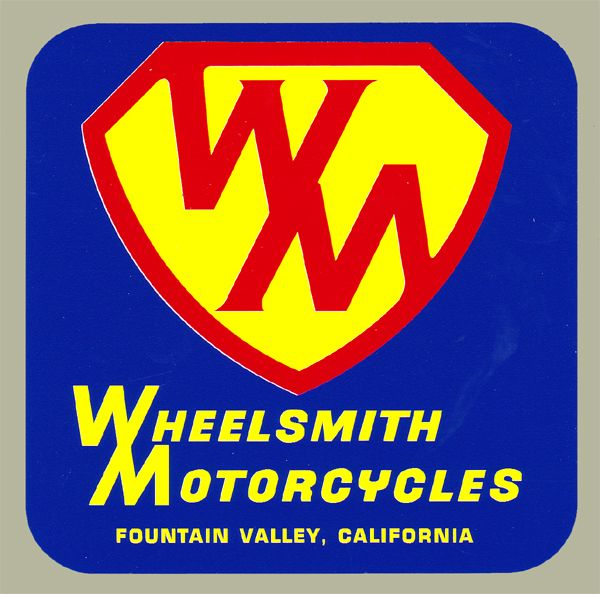 【HollyEquip】Wheelsmith Motorcycles 貼紙 - 「Webike-摩托百貨」