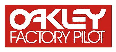 【HollyEquip】Oakley Factory Pilot 貼紙 - 「Webike-摩托百貨」