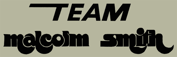 【HollyEquip】TEAM Malcolm Smith Die-Cut 貼紙 - 「Webike-摩托百貨」