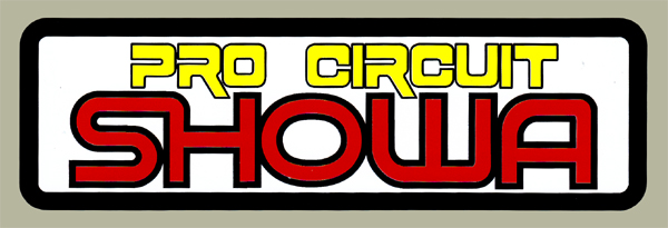 【HollyEquip】Pro Circuit Vintage SHOWA 貼紙 - 「Webike-摩托百貨」