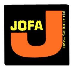 【HollyEquip】Jofa 貼紙 - 「Webike-摩托百貨」