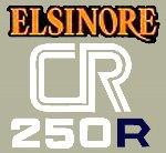 【HollyEquip】1978 HONDA CR250R Elsinore 側蓋貼紙(PR) - 「Webike-摩托百貨」
