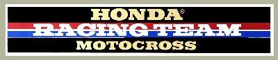 【HollyEquip】HONDA Racing TEAM 貼紙 - 「Webike-摩托百貨」
