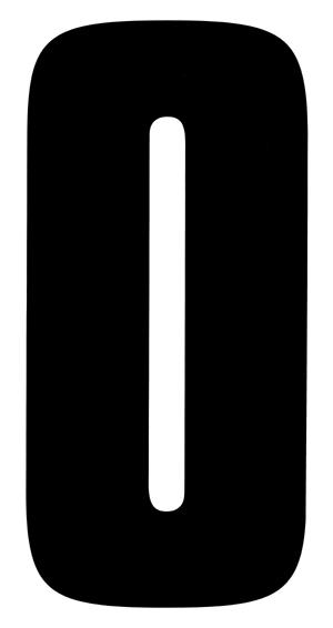 【HollyEquip】JT Racing 數字貼紙#0(EA) - 「Webike-摩托百貨」