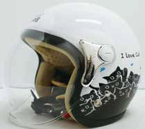【DAMMFLAPPER】CARINA-安全帽 - 「Webike-摩托百貨」