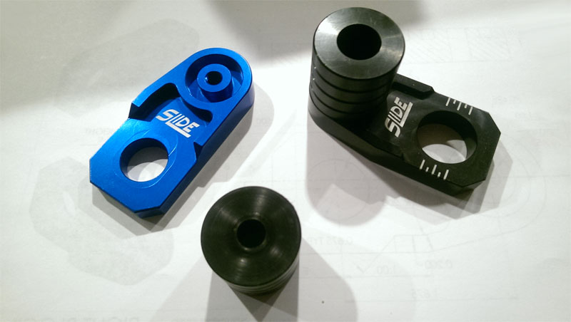 【SME】前&後輪軸 座 滑塊組 Slide - 「Webike-摩托百貨」