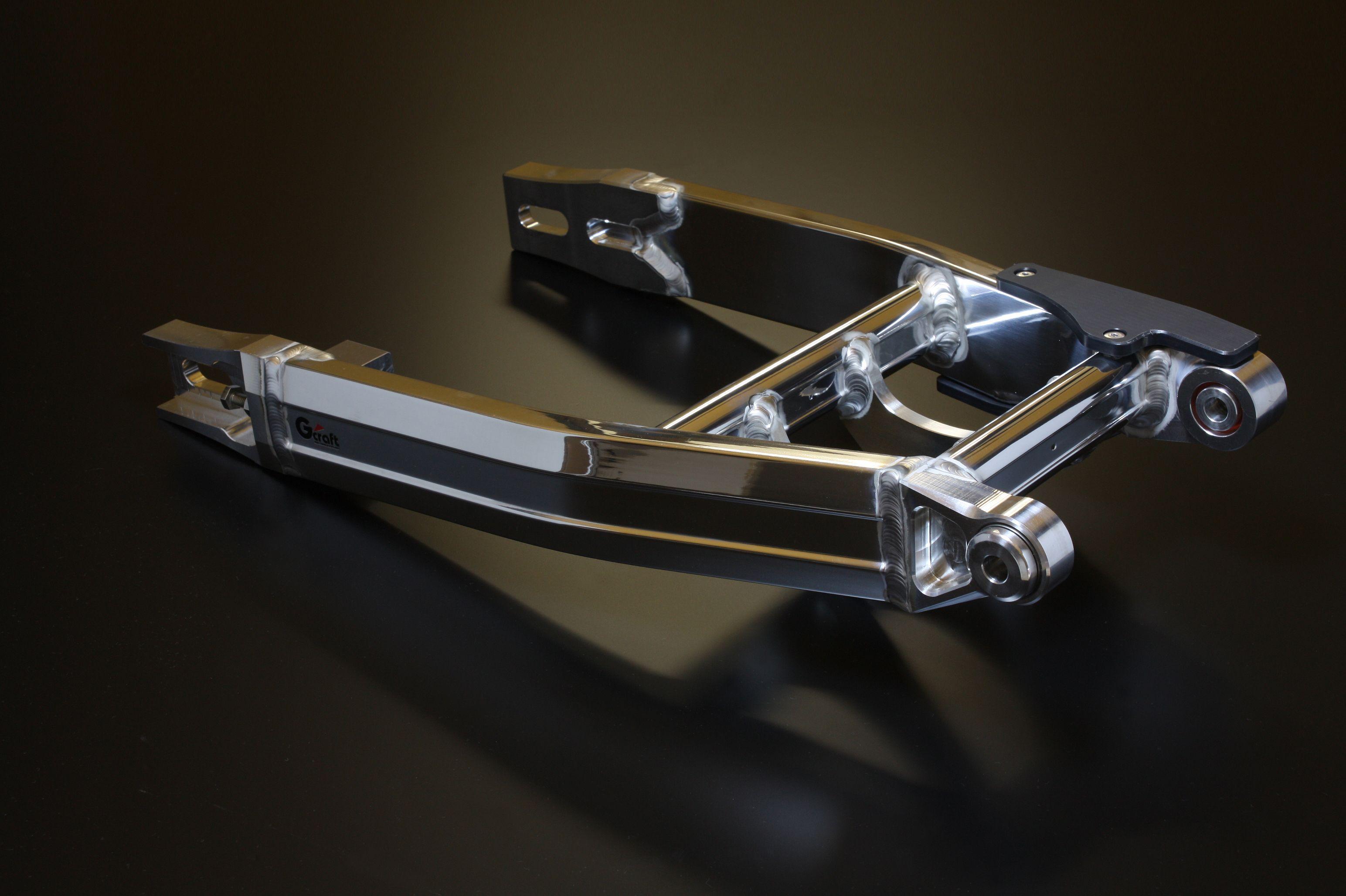 【G-Craft】超寬版MONO SHOCK多角型後搖臂 加長20cm - 「Webike-摩托百貨」