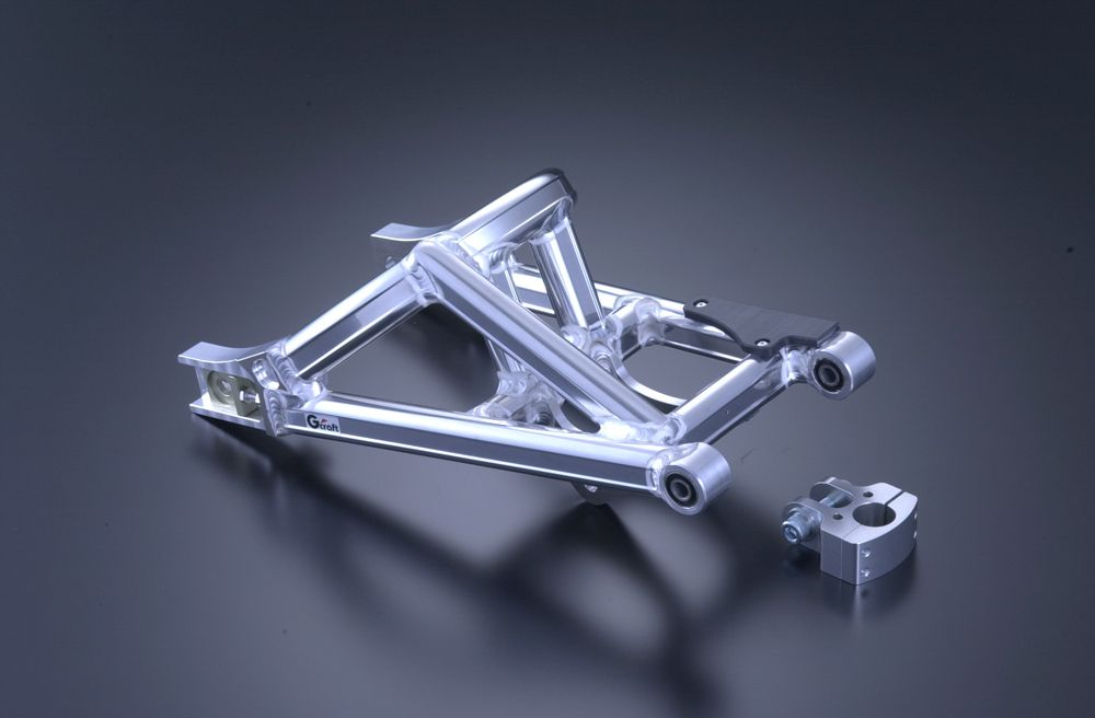 【G-Craft】NSR輪框用MONO SHOCK後搖臂  (附平衡支架) 加長20cm - 「Webike-摩托百貨」